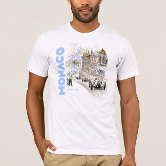 Grand Prix de Monaco 1937 - Blue text T-Shirt