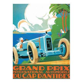 Grand Prix Du Cap Dantibes Postcard
