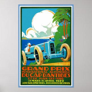 Grand Prix Du Cap d'Antibes Poster