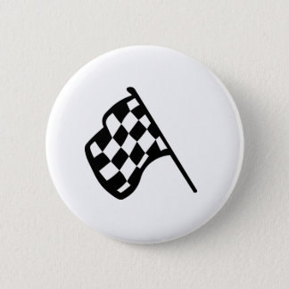 Grand Prix Flag 6 Cm Round Badge