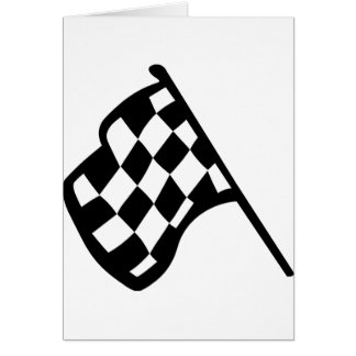 Grand Prix Flag Card