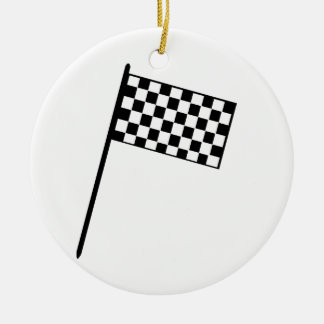Grand Prix Flag Christmas Ornament