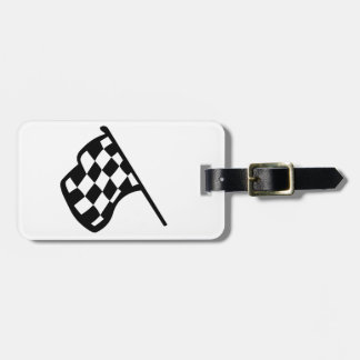 Grand Prix Flag Luggage Tag