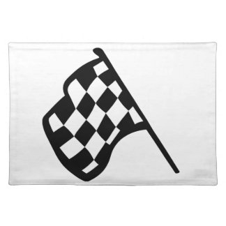 Grand Prix Flag Placemat