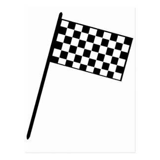Grand Prix Flag Postcard