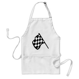 Grand Prix Flag Standard Apron