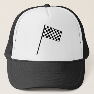 Grand Prix Flag Trucker Hat