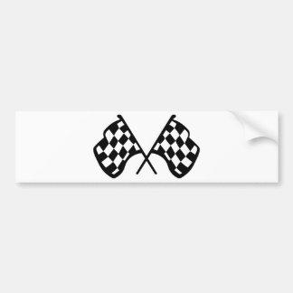 Grand Prix Flags Bumper Sticker