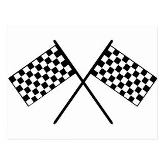 Grand Prix Flags Postcard