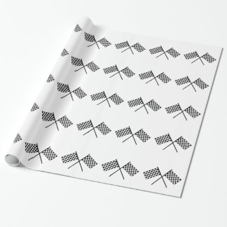 Grand Prix Flags Wrapping Paper