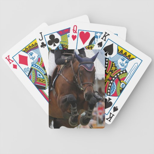 Grand Prix Jumper-Equestrian Playing Cards