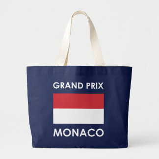Grand Prix Monaco Large Tote Bag