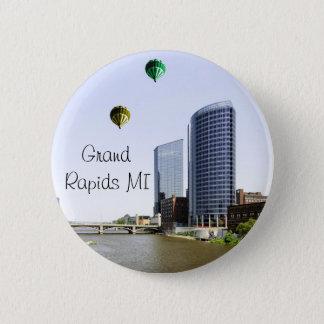 Grand Rapids Michigan 6 Cm Round Badge