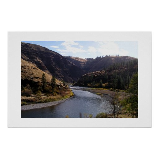 Grand Rhonde River, Oregon Poster