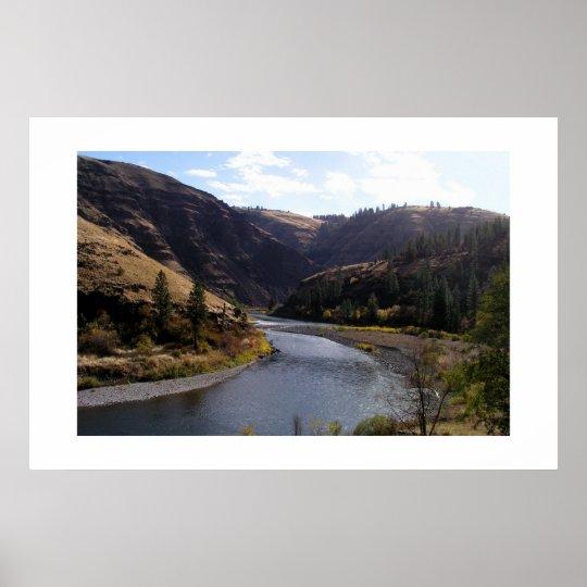 Grand Rhonde River, Oregon Poster