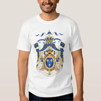 Grand Royal Coat of Arms of France Shirts