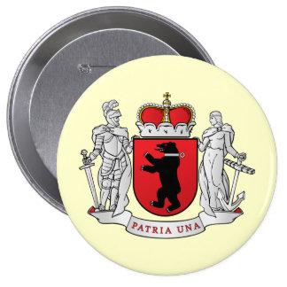Grand  Samogitia, Lithuania 10 Cm Round Badge
