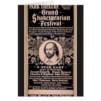 Grand Shakespearian Festival Greeting Card