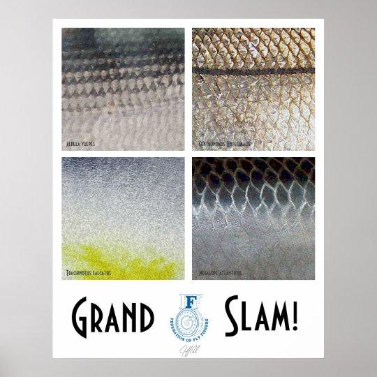 Grand Slam Saltwater Poster