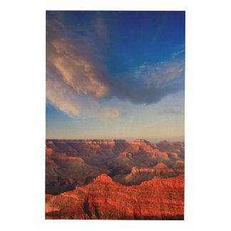 Grand Sunset Wood Canvases