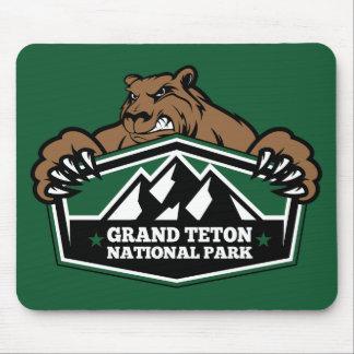 Grand Teton Brown Bear Mousepads