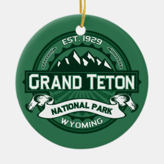 Grand Teton Forest Christmas Ornament
