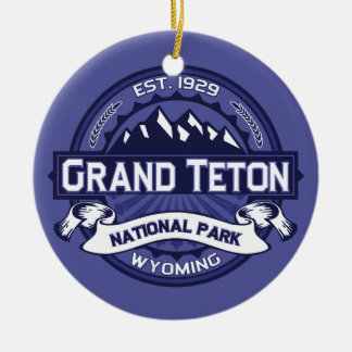 Grand Teton Midnight Christmas Ornament