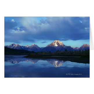 Grand Teton mountain range 2 Card