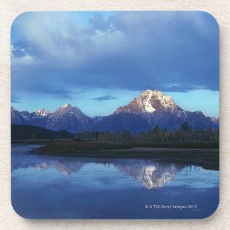 Grand Teton mountain range 2 Coaster