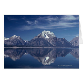 Grand Teton mountain range Card
