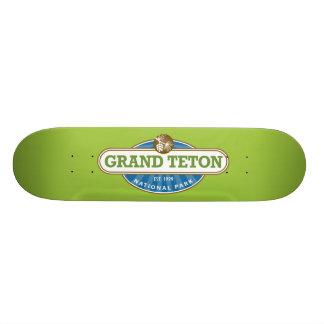 Grand Teton National Park 19.7 Cm Skateboard Deck