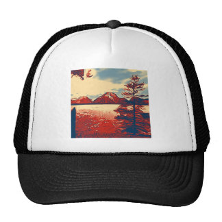 Grand Teton National Park Art Cap