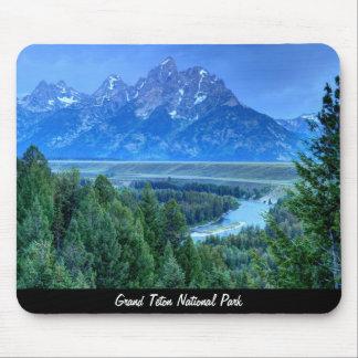 Grand Teton National Park at Sunset Mouse Pad