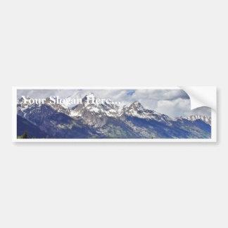 Grand Teton National Park. Car Bumper Sticker