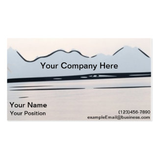 Grand Teton National Park Business Cards. Pack Of Standard Business Cards