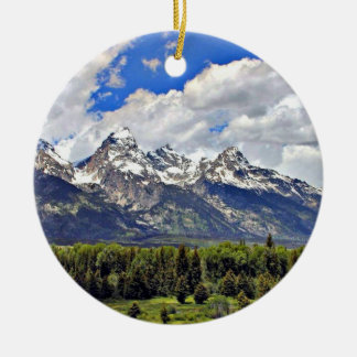 Grand Teton National Park Christmas Ornament