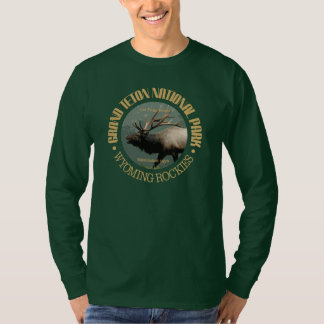 Grand Teton National Park (elk) T-Shirt