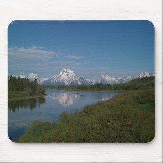 Grand Teton National Park Mouse Mat