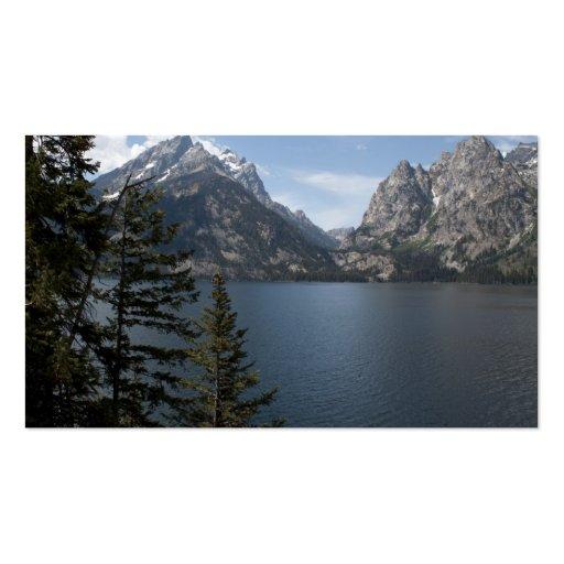 Grand Teton National Park photography profile card Business Card Templates