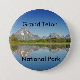 Grand Teton National Park Series 10 7.5 Cm Round Badge