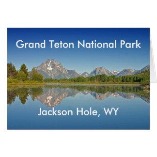 Grand Teton National Park Series 10 Greeting Card