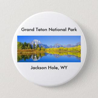 Grand Teton National Park Series 1 7.5 Cm Round Badge