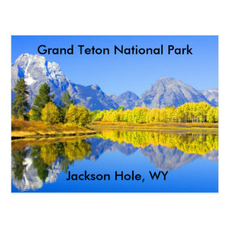 Grand Teton National Park Series 1 Postcard