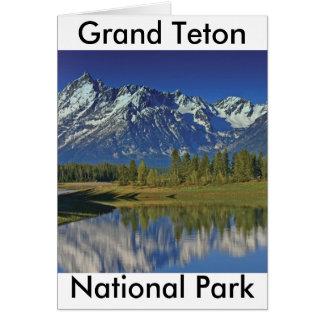 Grand Teton National Park Series 4 Note Card