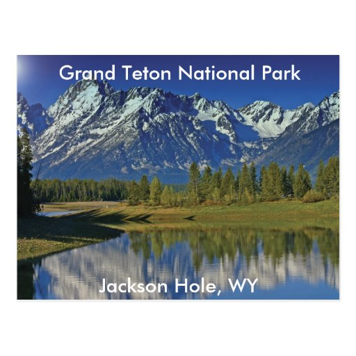 Grand Teton National Park Series 4 Postcard