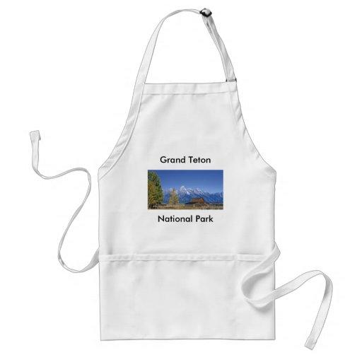 Grand Teton National Park Series 5 Apron