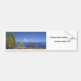 Grand Teton National Park Series 5 Car Bumper Sticker