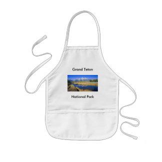 Grand Teton National Park Series 7 Kids Apron