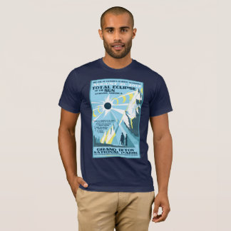 Grand Teton National Park Solar Eclipse Tshirt
