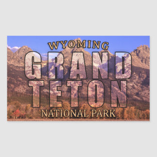 Grand Teton National Park Stickers